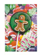 Gingerbread Boy Lollipop