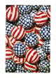 Red White and Blue Patriotic Foil Wrapped Chocolate