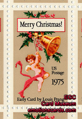 Louis prang postage stamp emotions greeting cards museum louis prang commemorative postage stamp visit the greeting card galleries m4hsunfo
